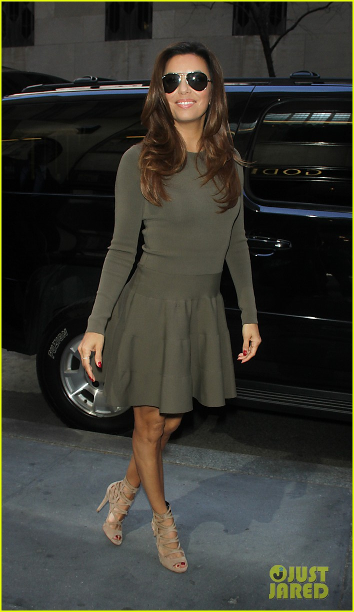 eva longoria tribeca lunch dr oz show 11