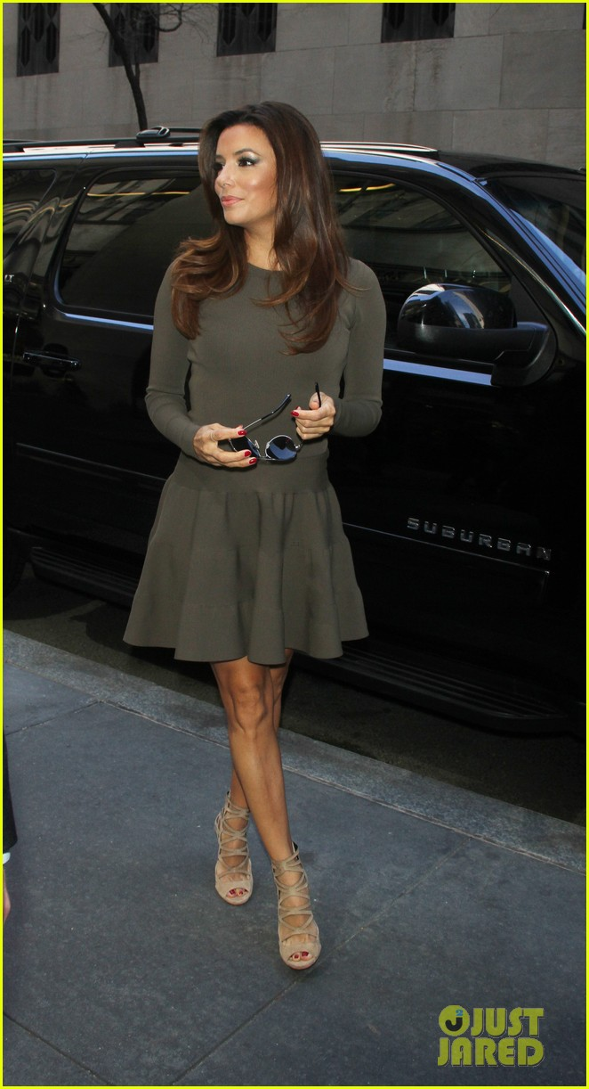 eva longoria tribeca lunch dr oz show 132853385