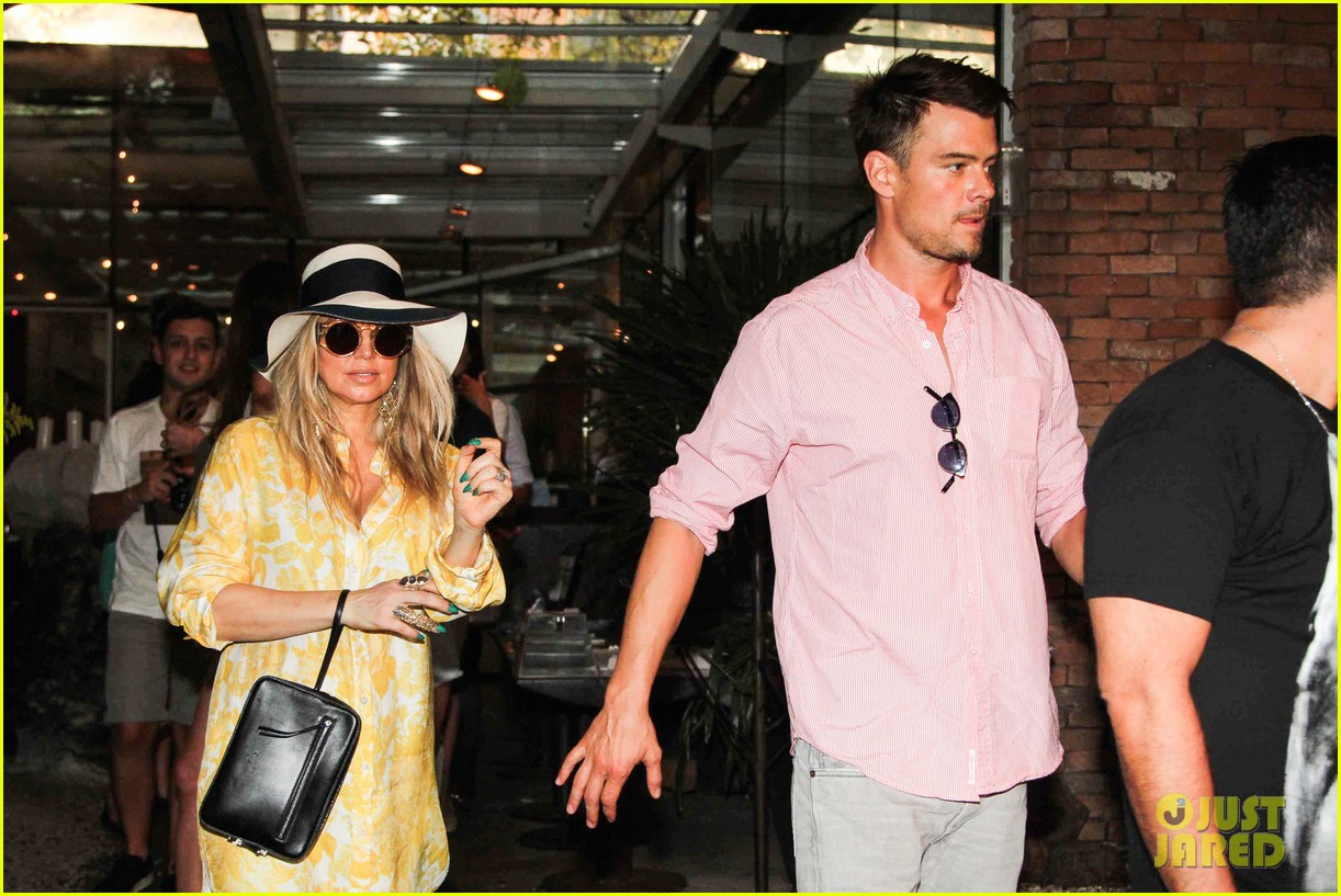 fergie josh duhamel sao paolo lunch lovebirds 11