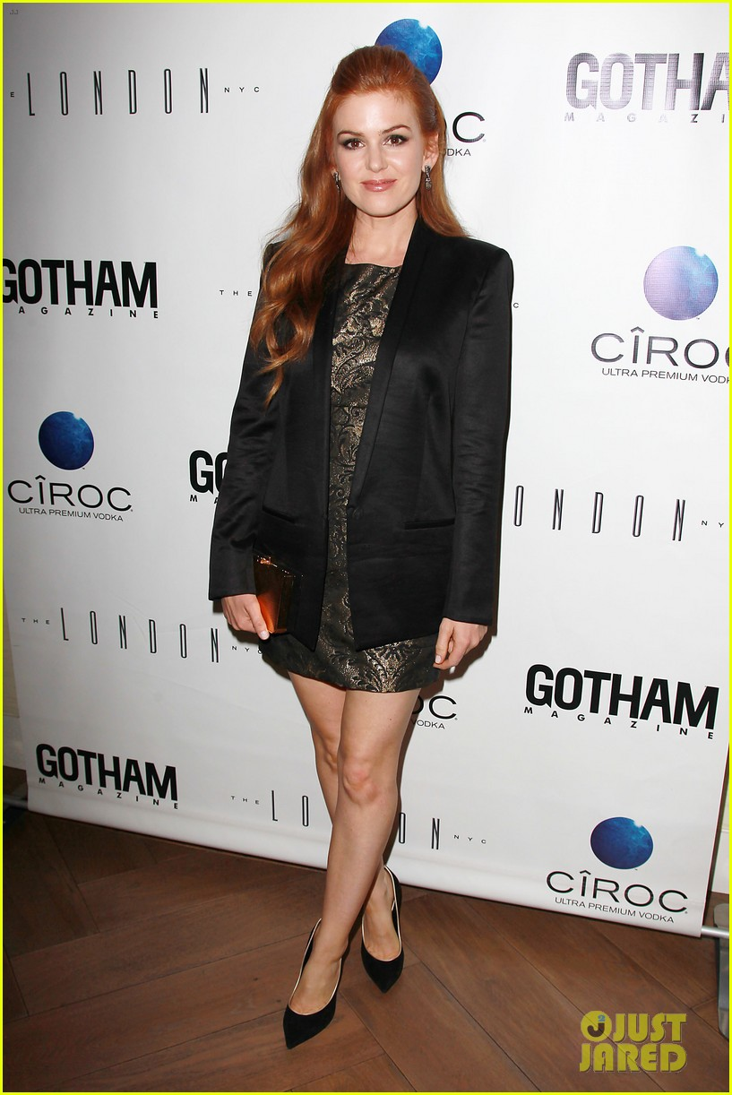 isla fisher gotham magazine cover party 012859017
