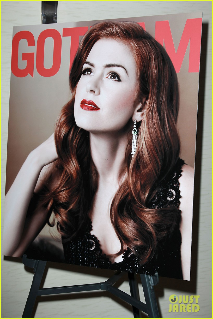 isla fisher gotham magazine cover party 08