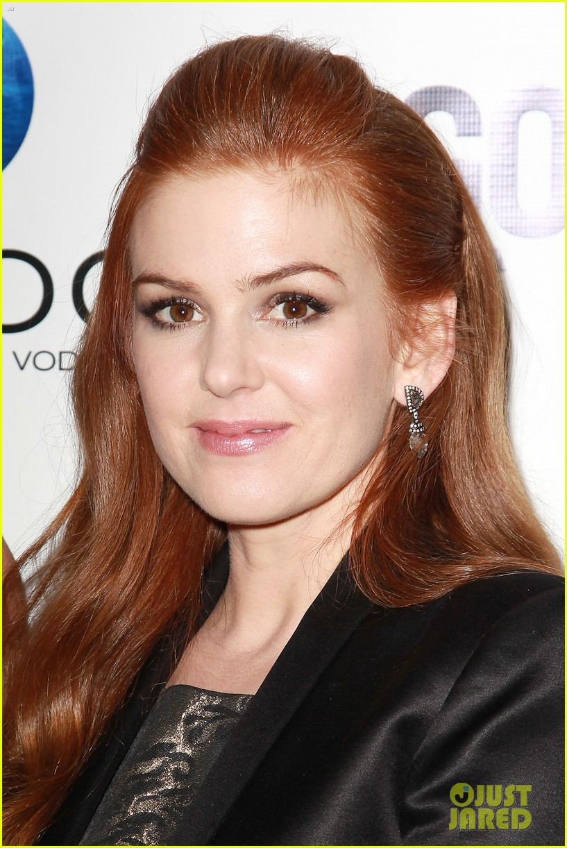 isla fisher gotham magazine cover party 14