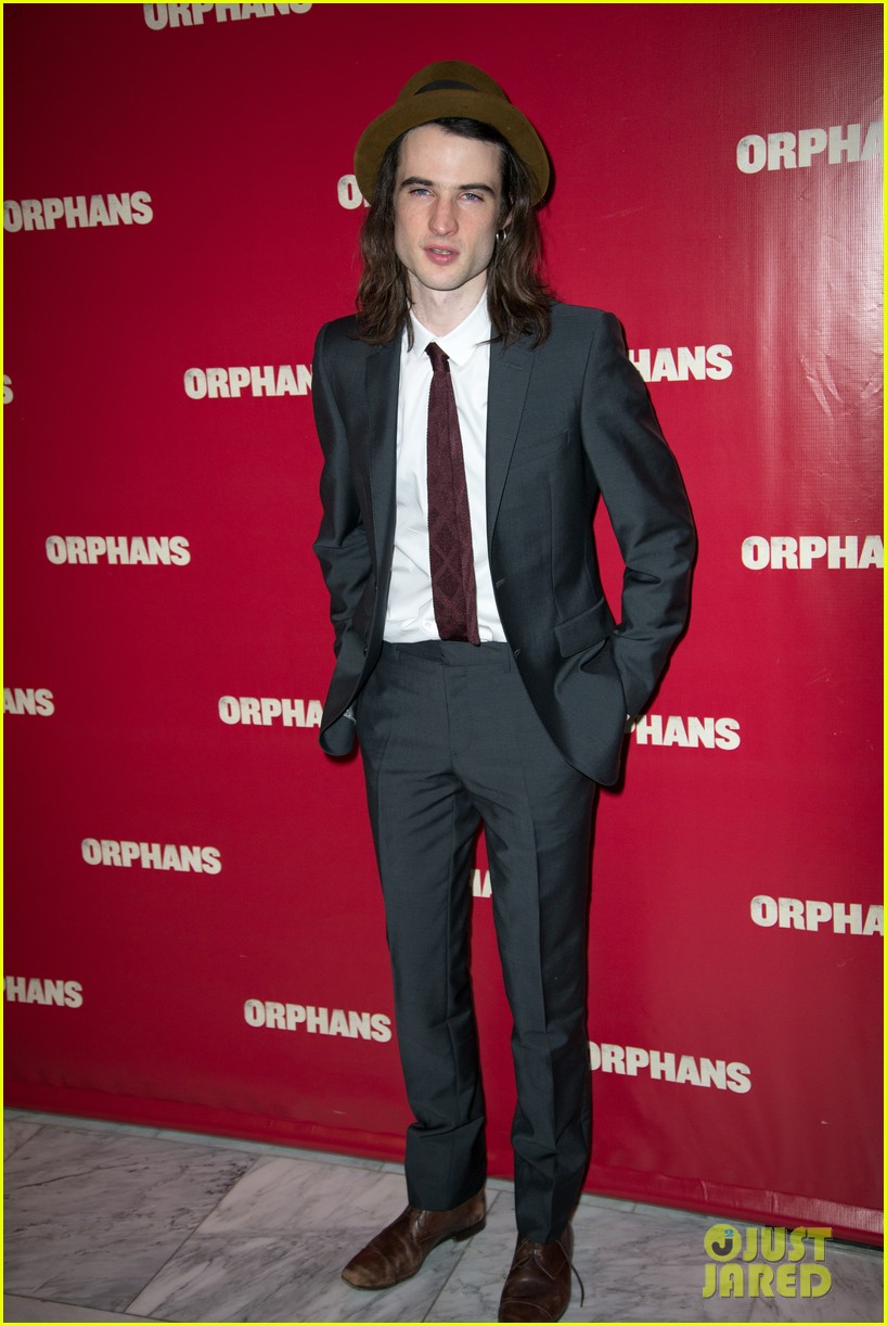 ben foster tom sturridge orphans broadway opening 06