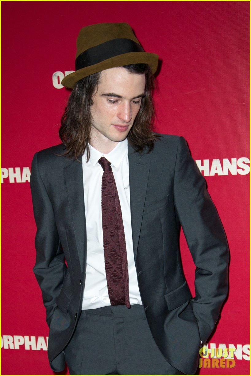 ben foster tom sturridge orphans broadway opening 092853607