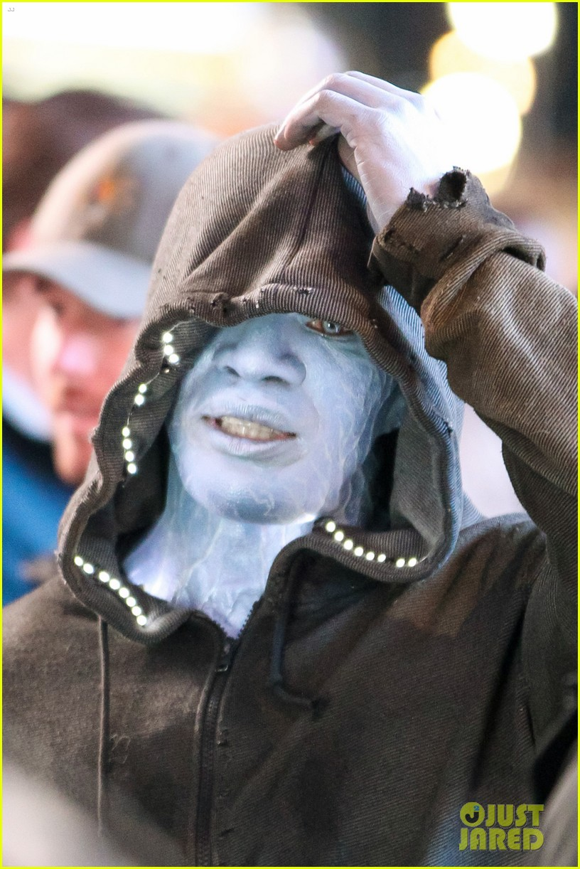 jamie foxx as electro in amazing spider man 2 first look 072851289