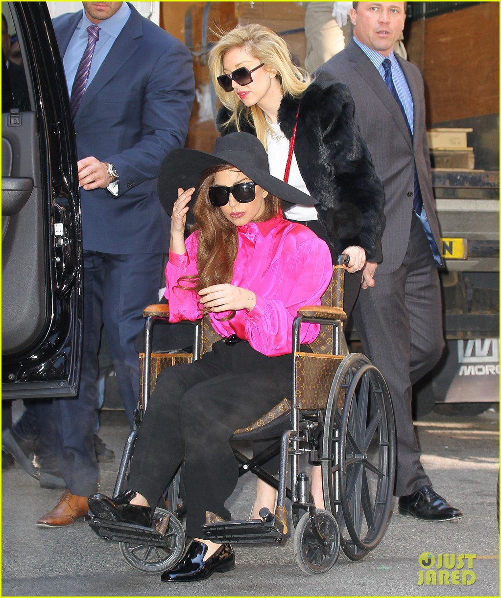 lady gaga wheelchair recovery in nyc 032842709