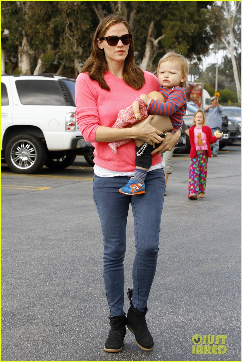 jennifer garner ben affleck cavalia odysseo with the kids 072844775