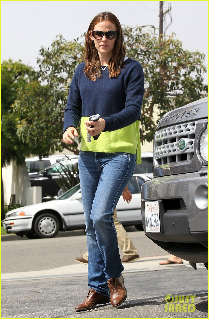 jennifer garner ben affleck weekend shopping with the girls 48