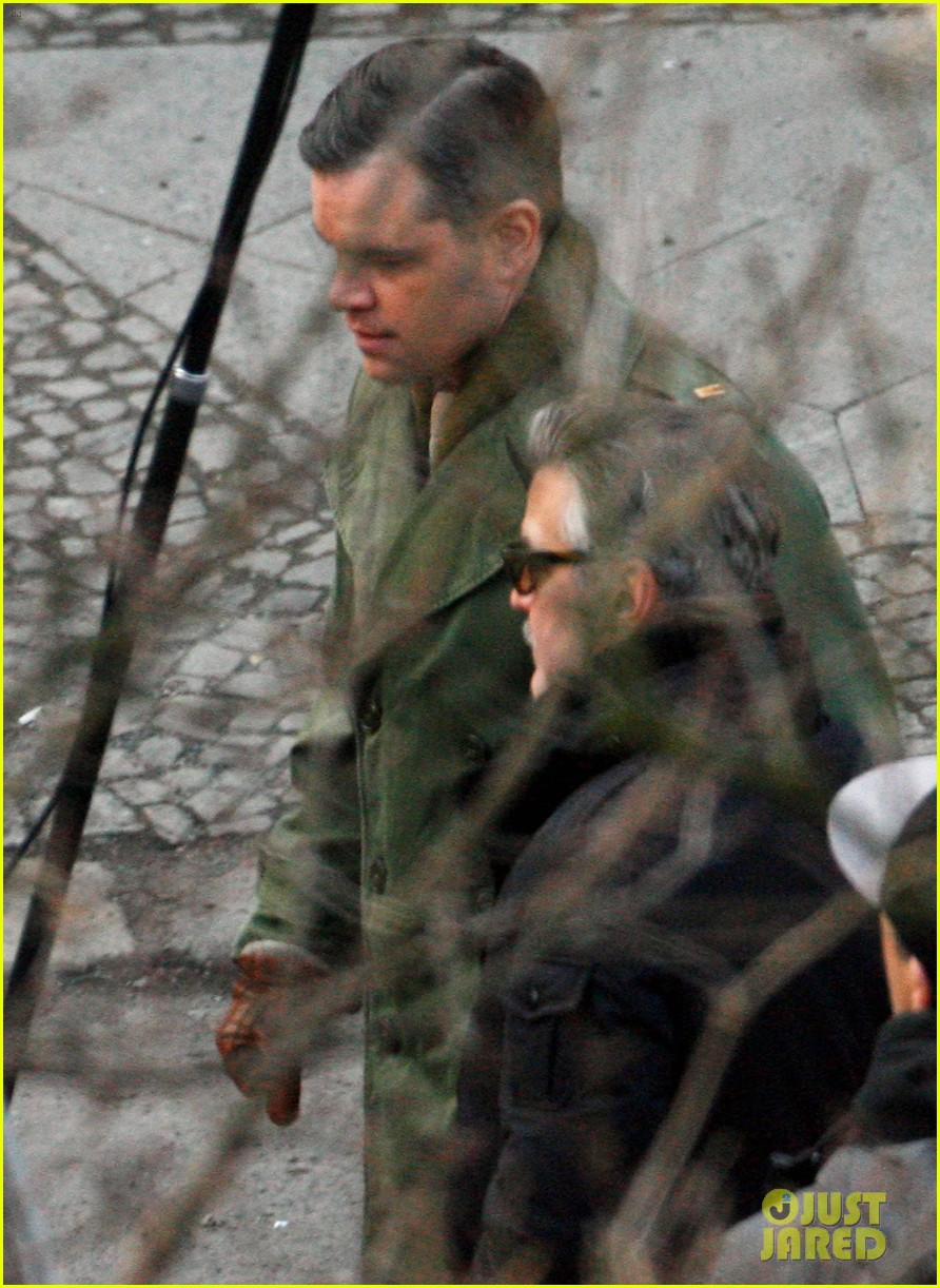 george clooney matt damon the monuments men in berlin 18