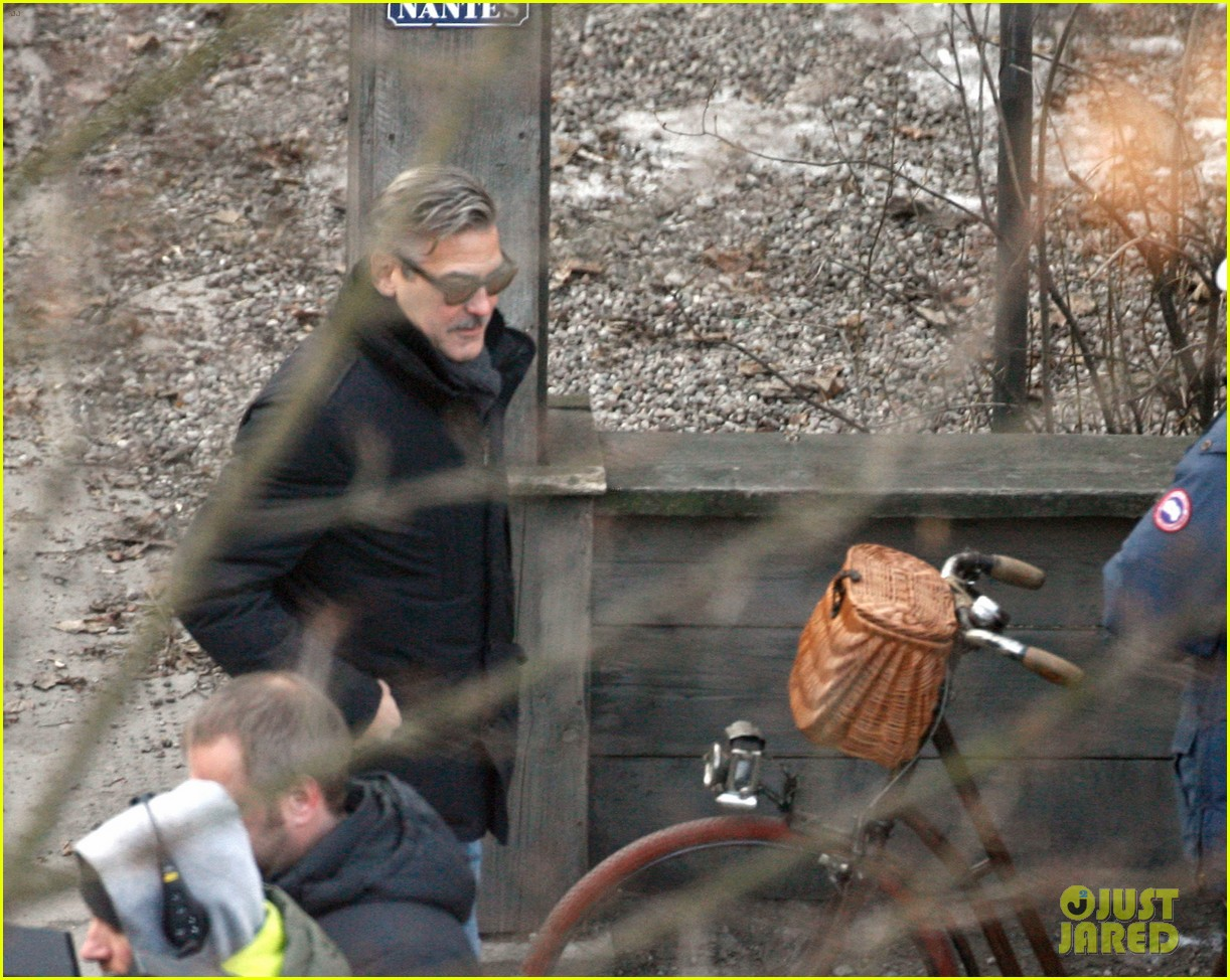 george clooney matt damon the monuments men in berlin 242843291