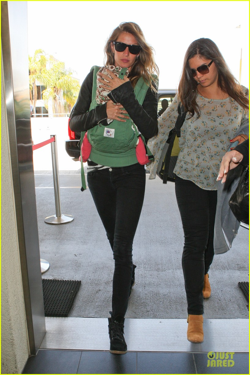 gisele bundchen vivian lax departure after earth day 07