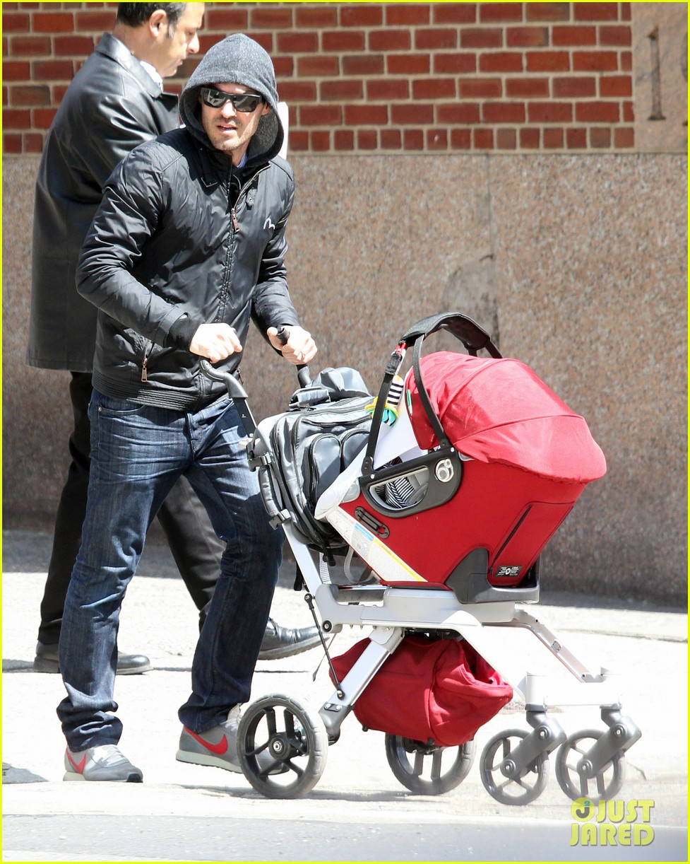 brian austin green sunny spring stroll with noah 062842114