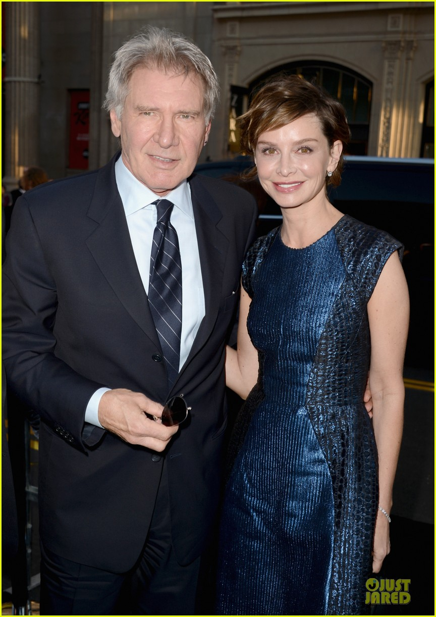 harrison ford calista flockhart 42 hollywood premiere 02