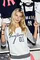 jessica hart yankees opening day new pink mlb collection celebration 15