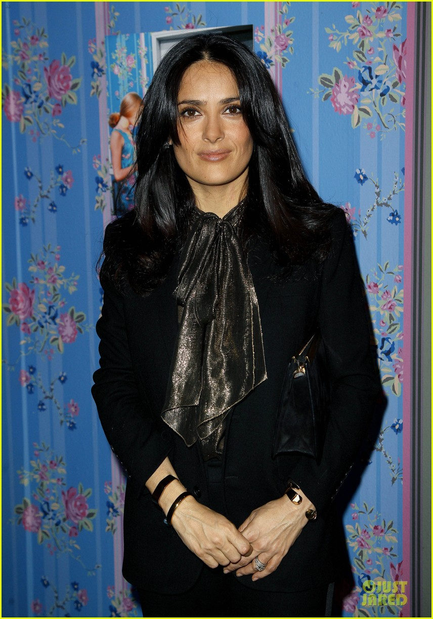salma hayek the enchanted world of jacques demy exhibition 042845998