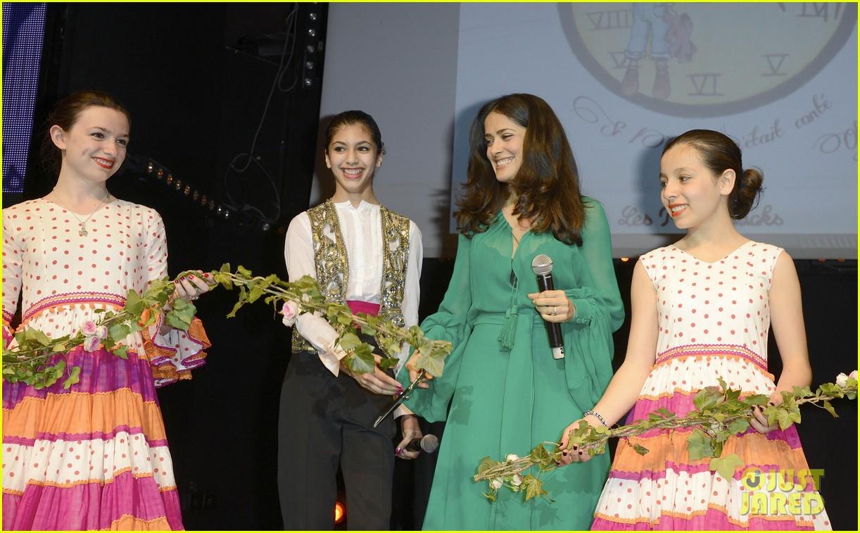 salma hayek les ptits cracks charity dinner 152858659
