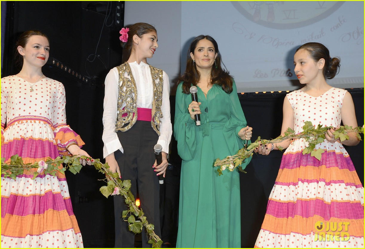 salma hayek les ptits cracks charity dinner 172858661
