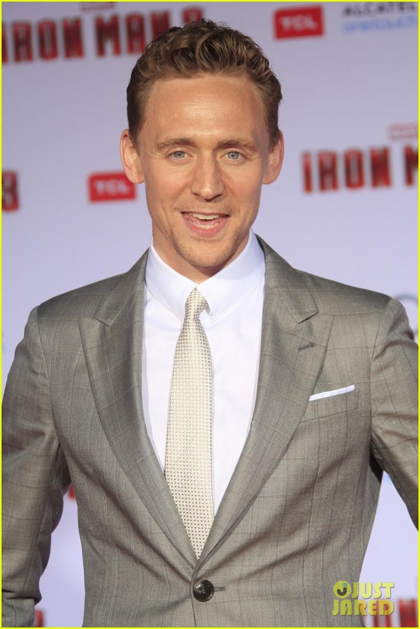chris hemsworth tom hiddleston iron man 3 premiere 072857851