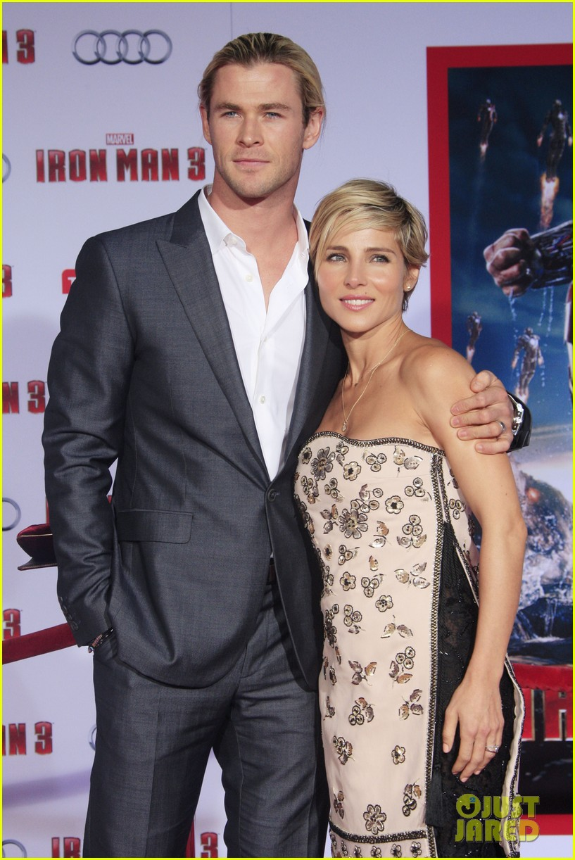 chris hemsworth tom hiddleston iron man 3 premiere 09
