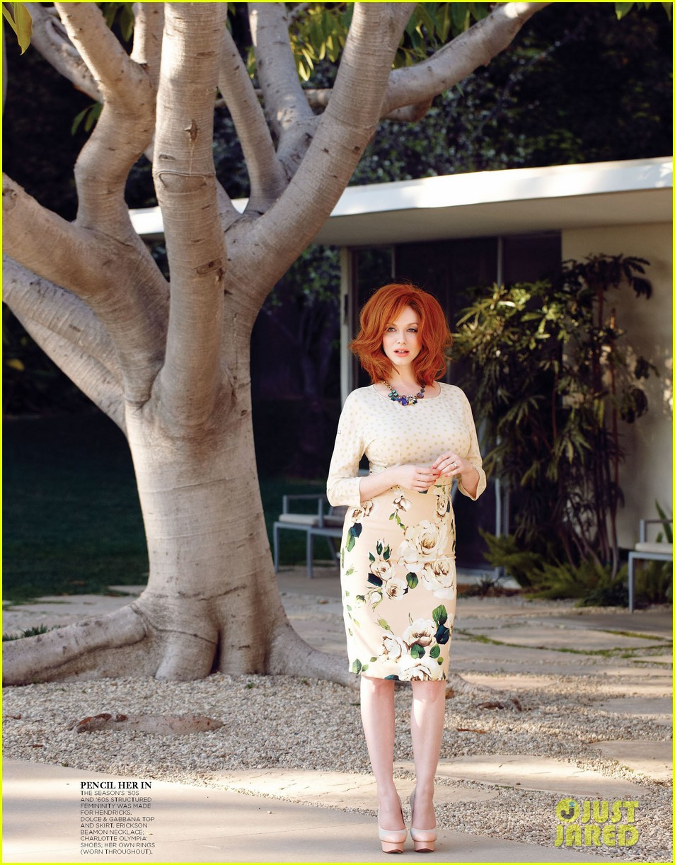 christina hendricks covers flare may 2013 032843383