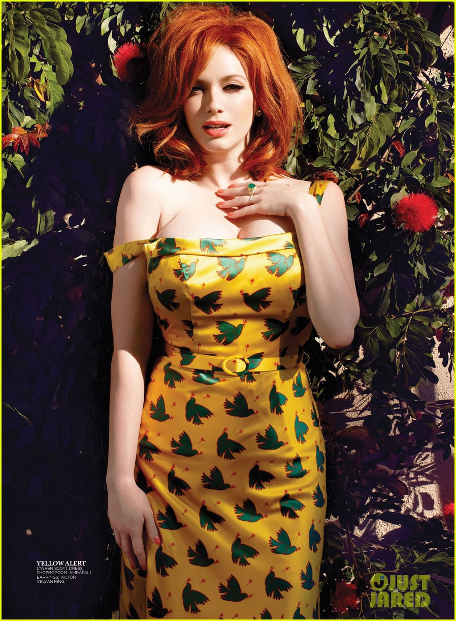 christina hendricks covers flare may 2013 062843386