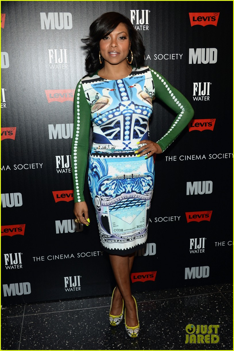 taraji p henson sterling beaumon mud nyc screening 112855517