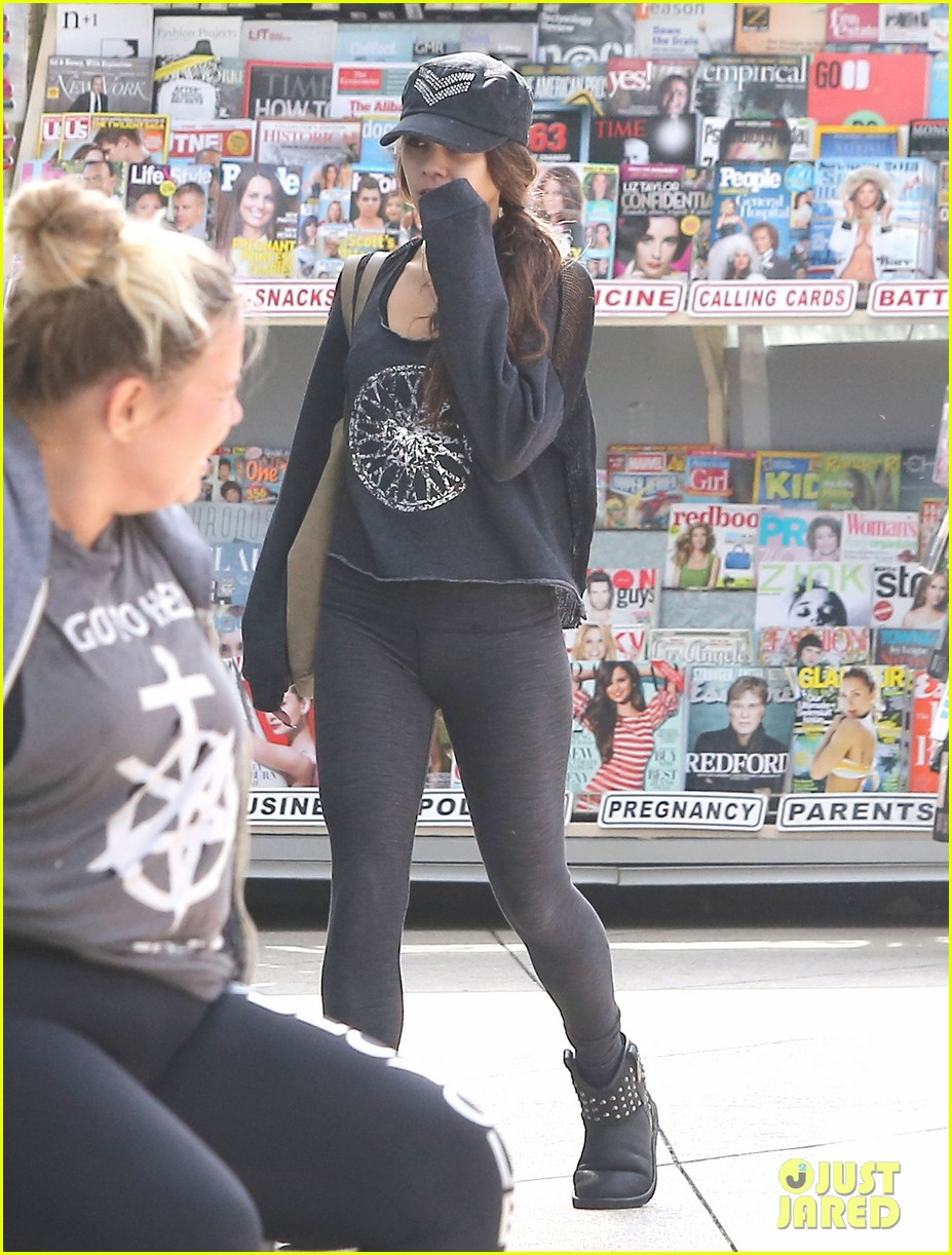 vanessa hudgens morning workout in west hollywood 072842103
