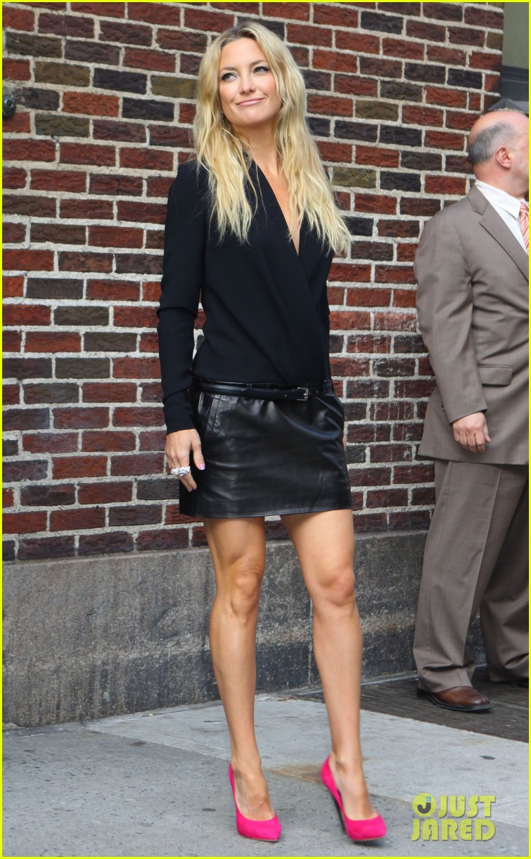 kate hudson late show with david letterman 05