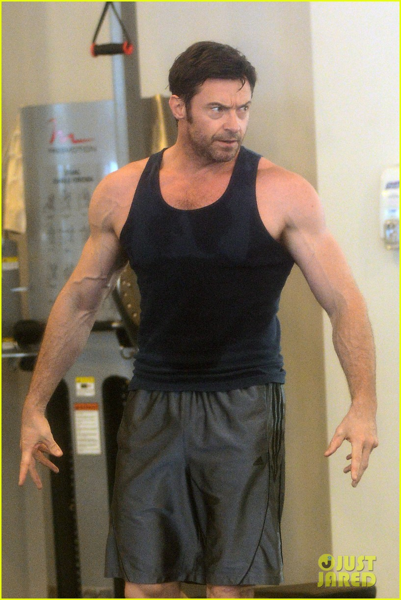 hugh jackman bulging bicep workout 31