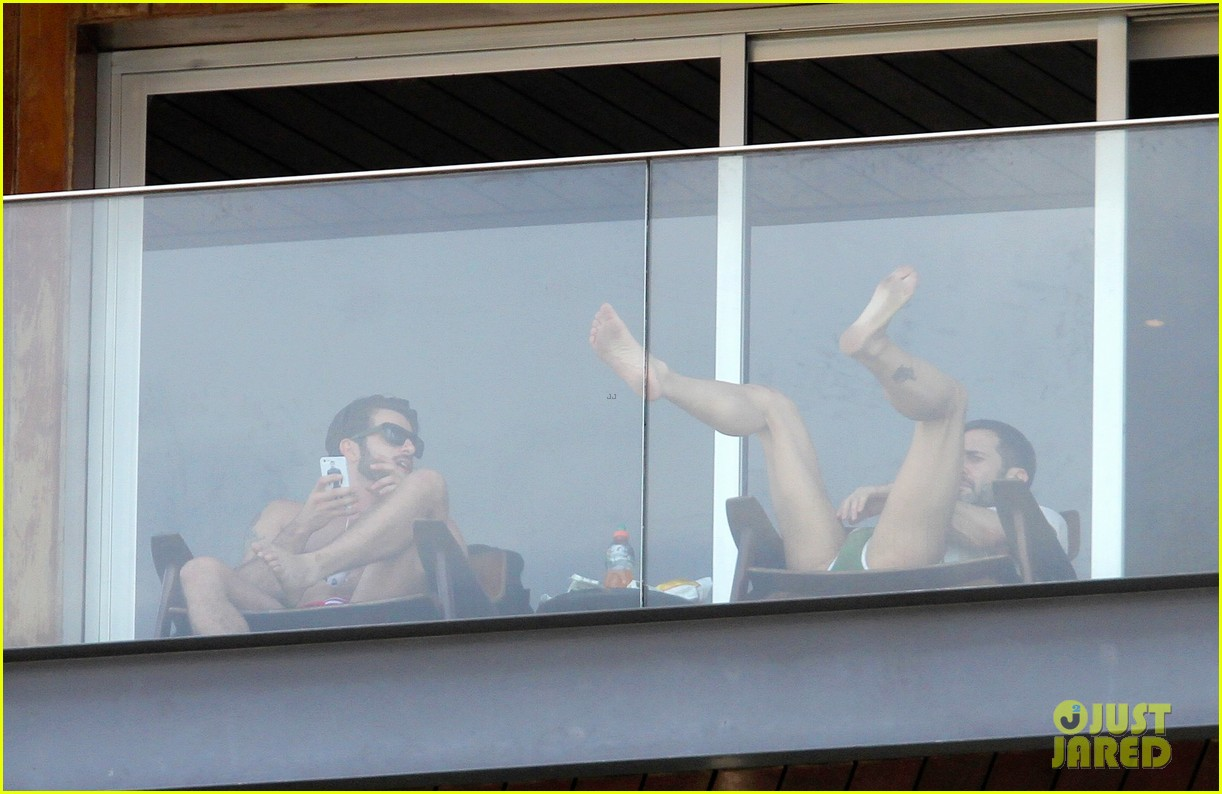 marc jacobs harry louis shirtless speedo pda in rio 142845406