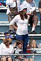ben affleck jennifer garner track meet with the girls 33