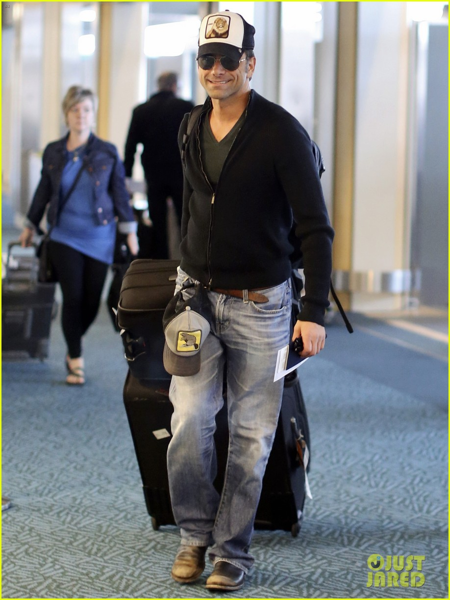 john stamos back to la with angela sarafyan 01