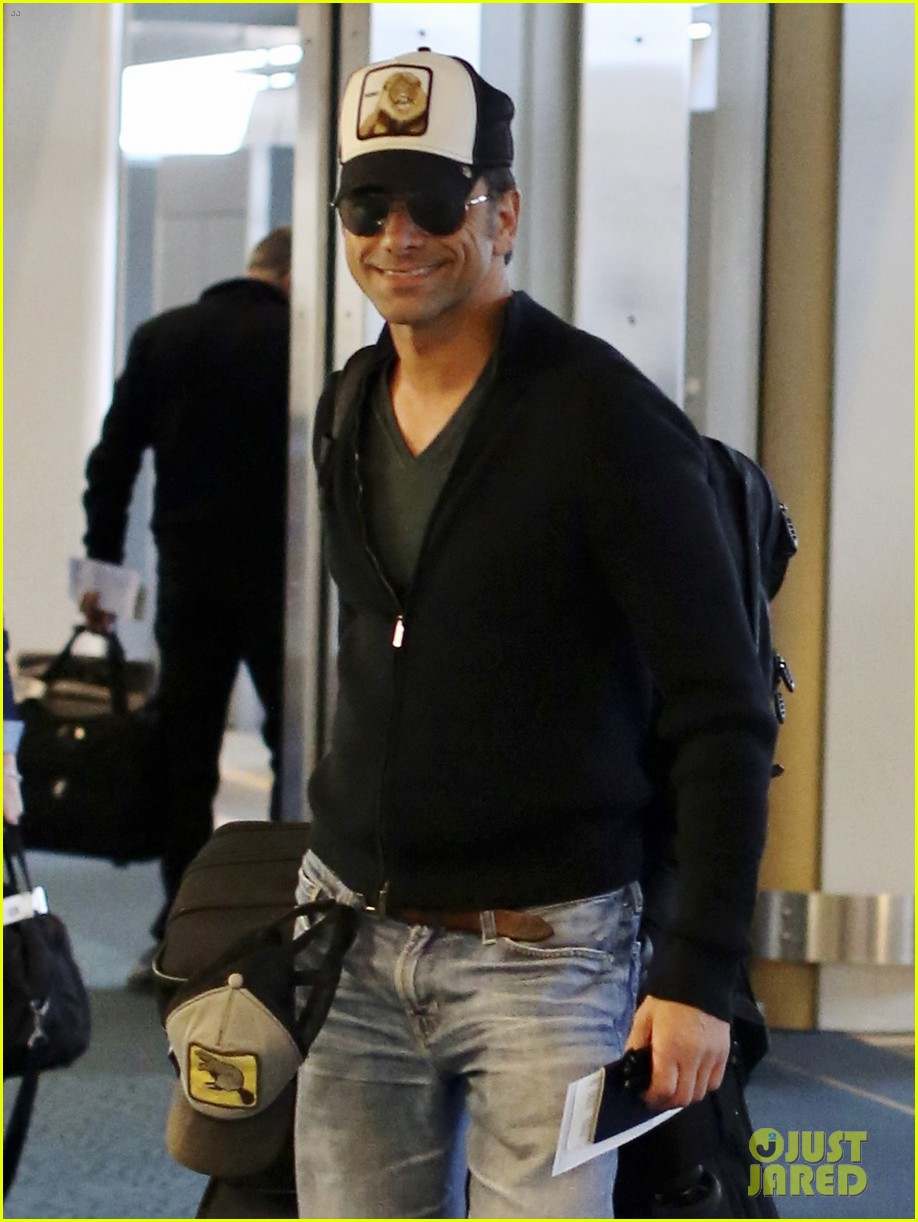 john stamos back to la with angela sarafyan 02