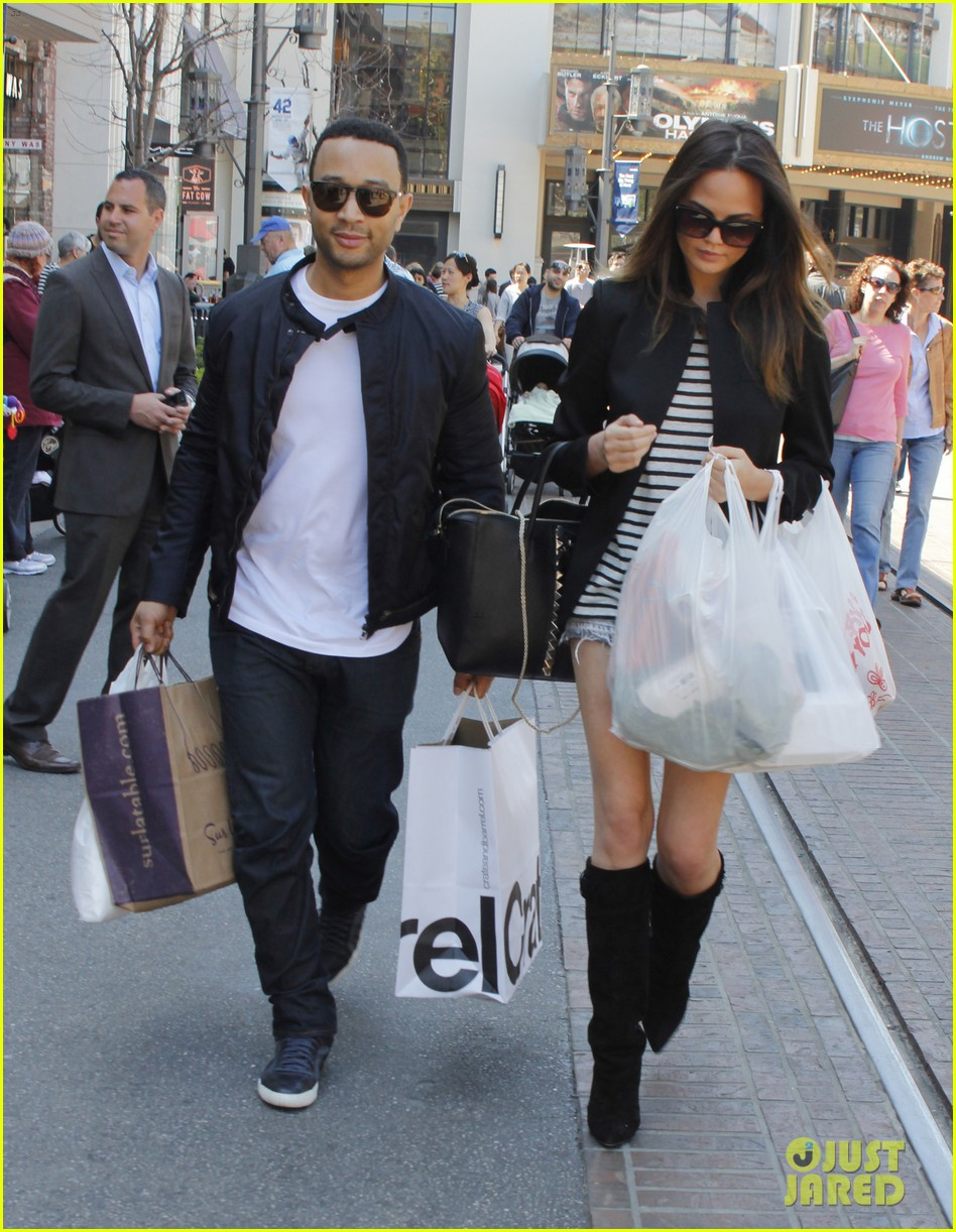 chrissy teigen john legend the grove couple 012841007