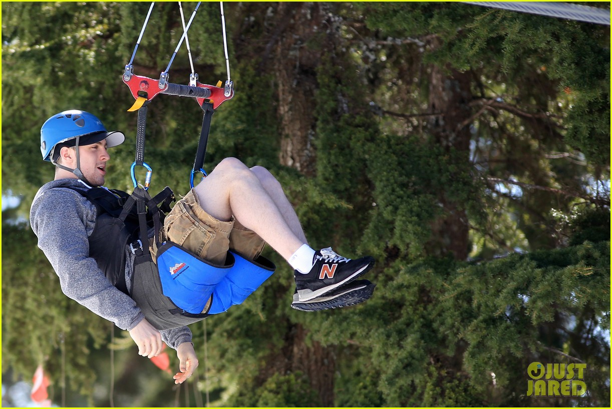 aaron taylor johnson wife sam easter ziplining 19