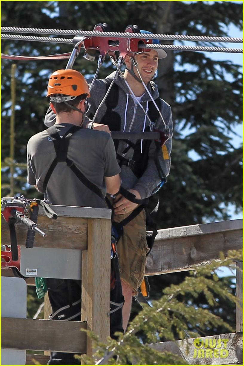 aaron taylor johnson wife sam easter ziplining 29
