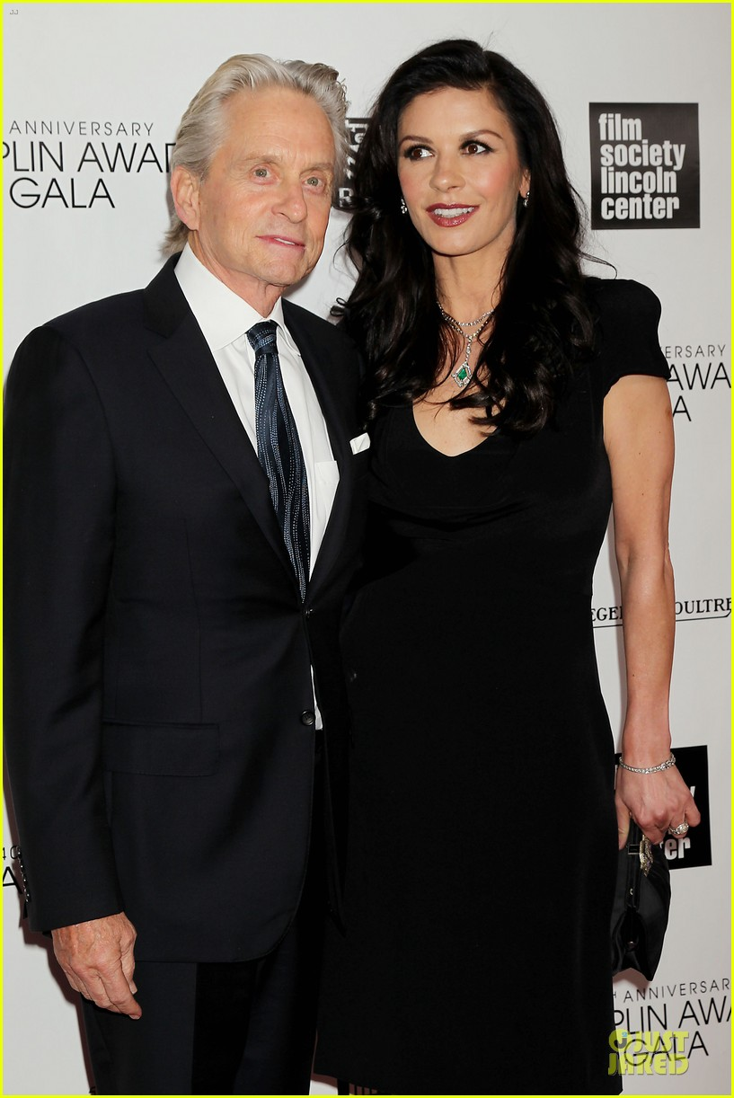 catherine zeta jones michael douglas chaplin award gala 022856295