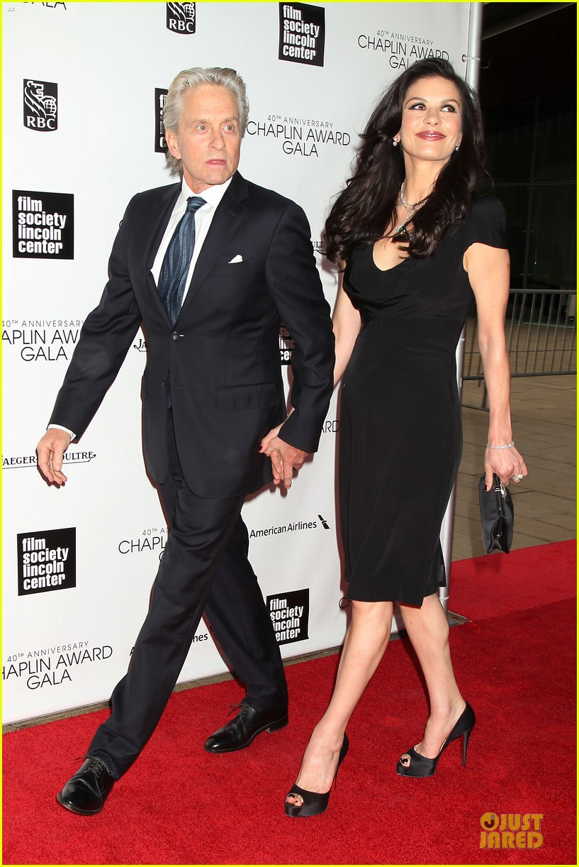 catherine zeta jones michael douglas chaplin award gala 052856298