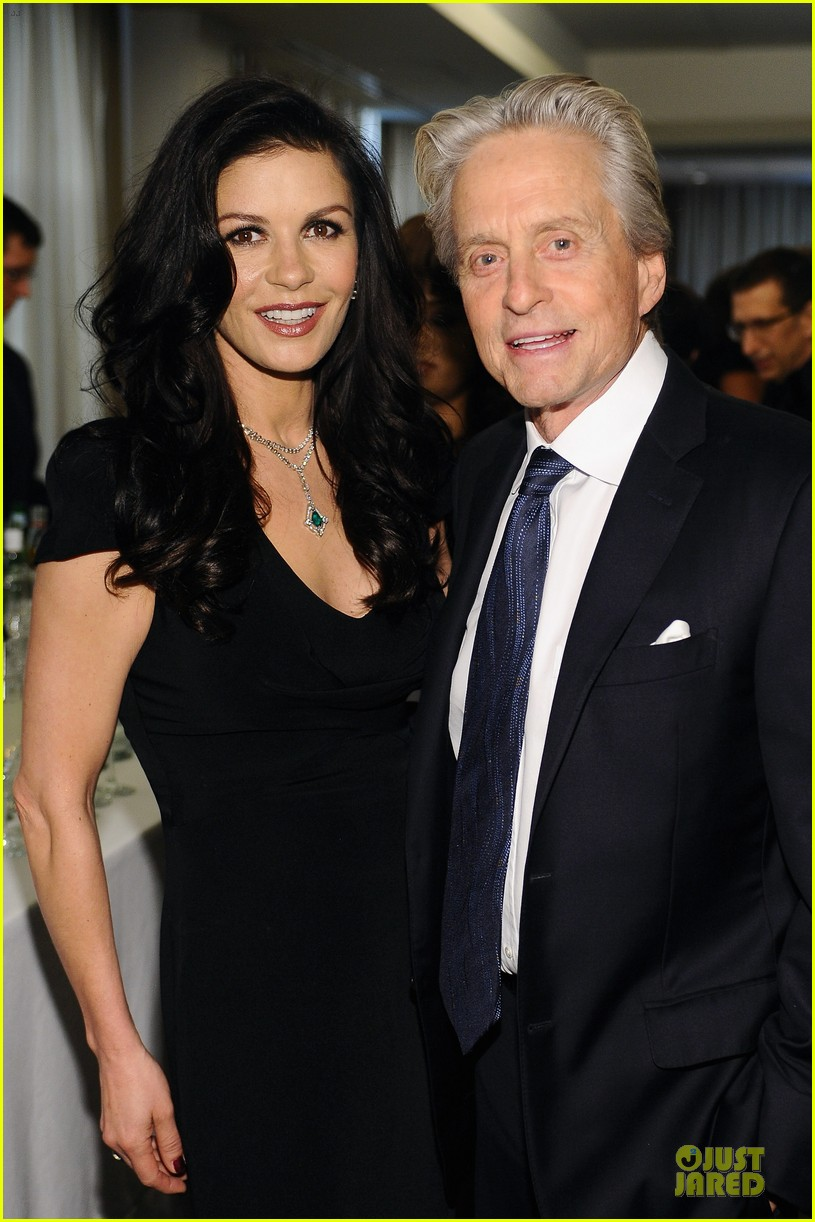 catherine zeta jones michael douglas chaplin award gala 08