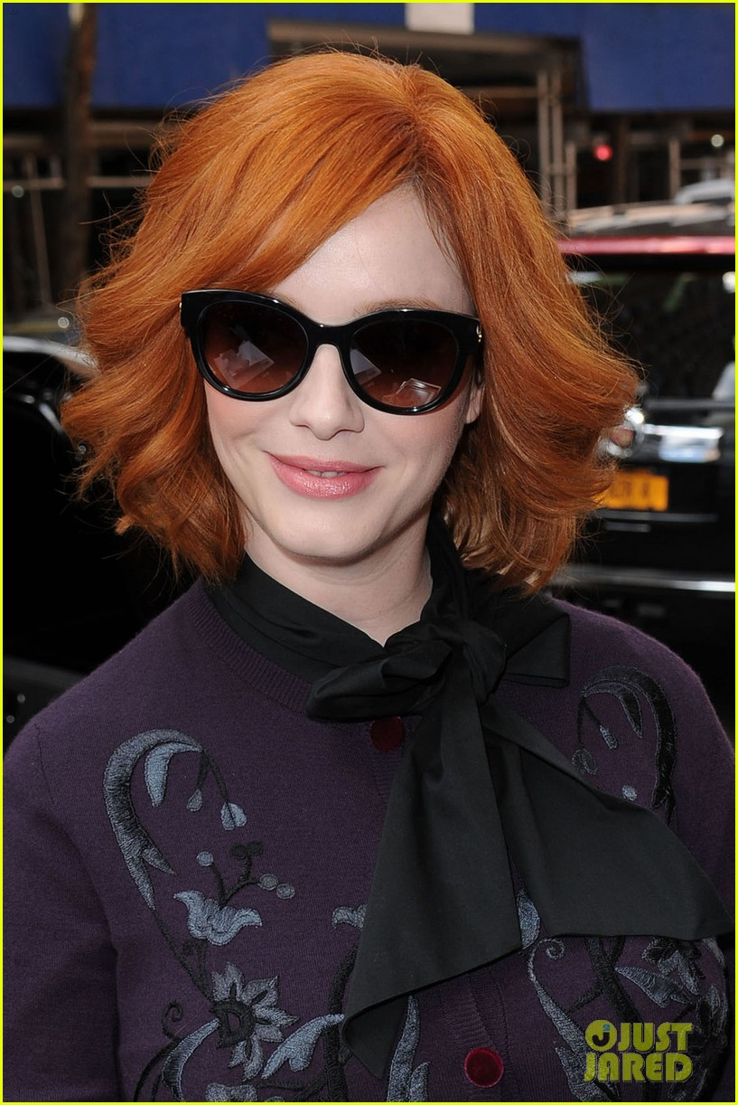 january jones christina hendricks mad men at katie 112855823