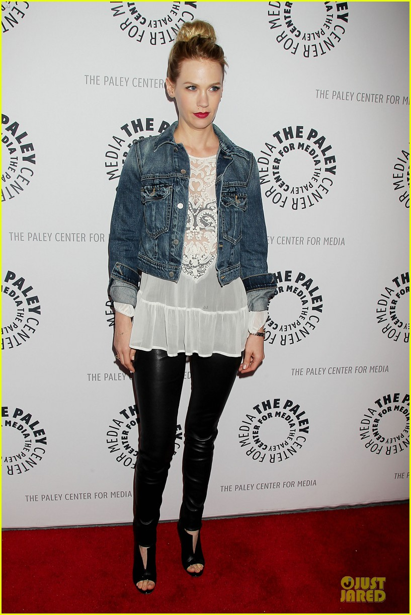 january jones jon hamm mad men paley presentation 012856770