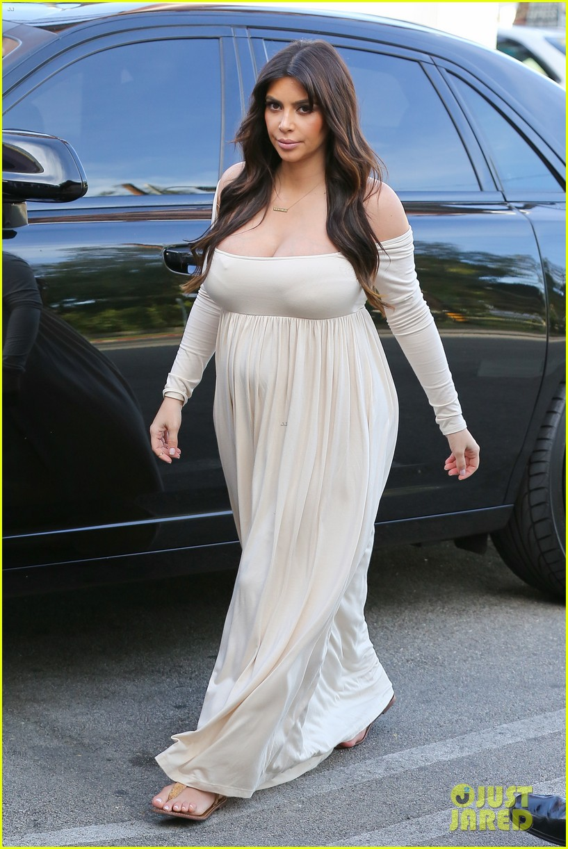 kim kardashian pregnant frozen yogurt craving 10