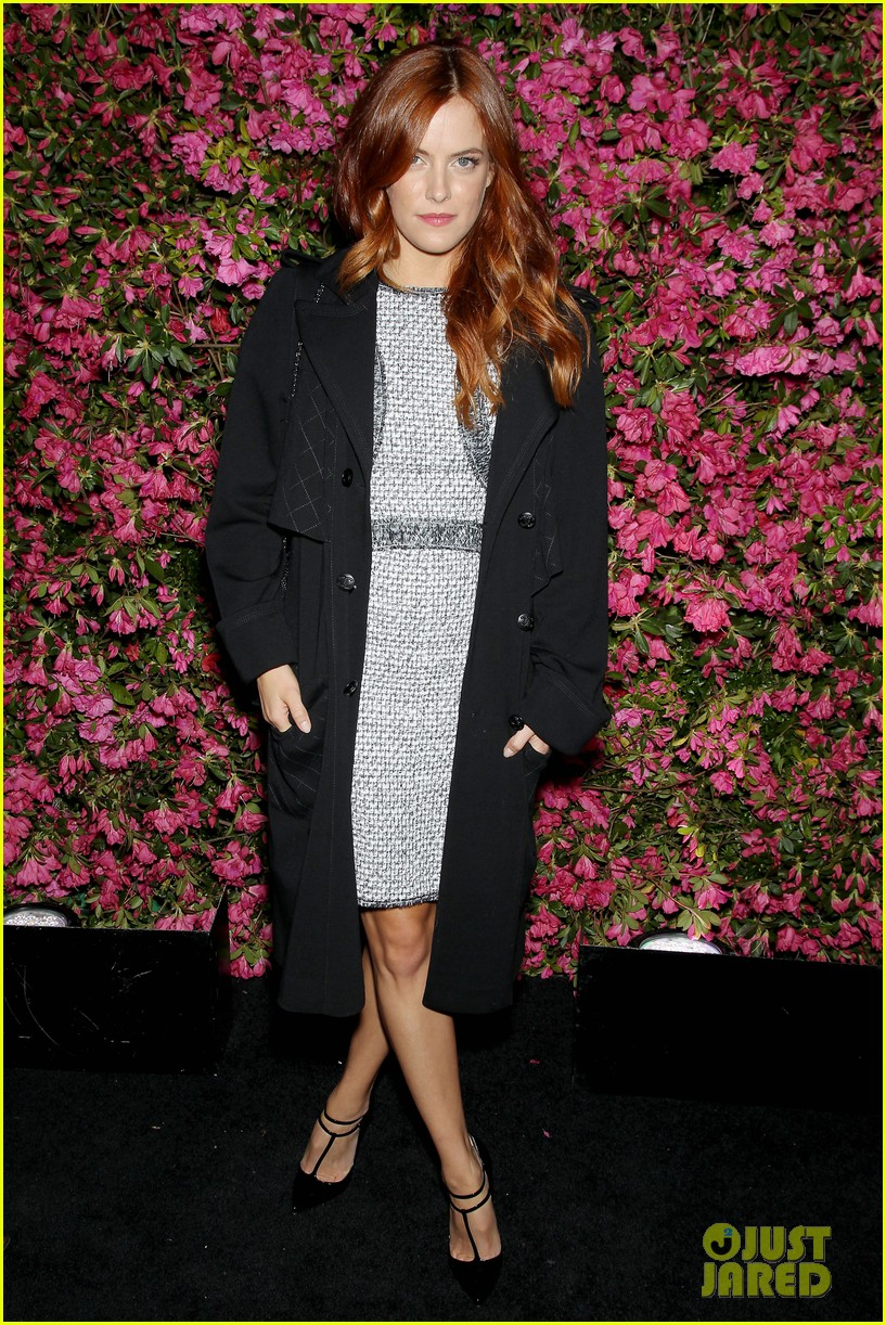 riley keough taraji p henson chanel tribeca artists dinner 22