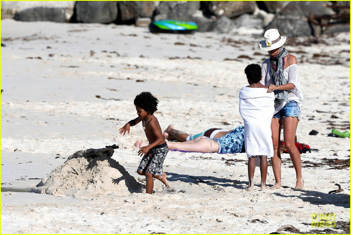 heidi klum family back in l a after hawaii drowning save 382842238