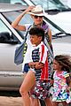 heidi klum family back in l a after hawaii drowning save 32