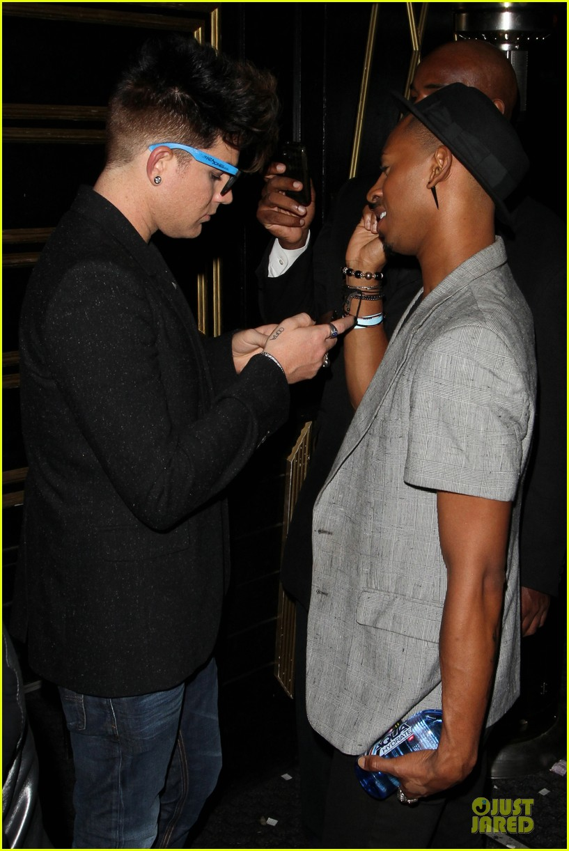 adam lambert bootsy bellows nightclub after sauli koskinen split 14