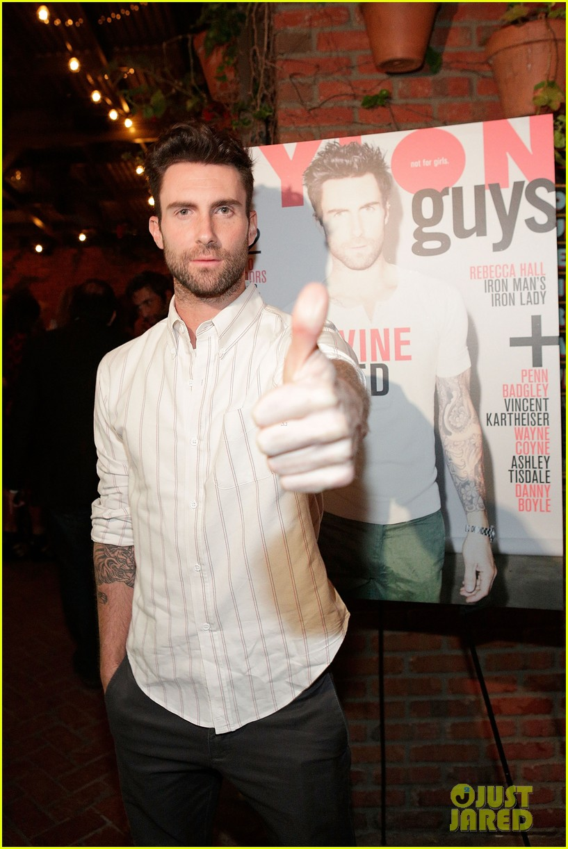 adam levine nylon guys cover celebration 07