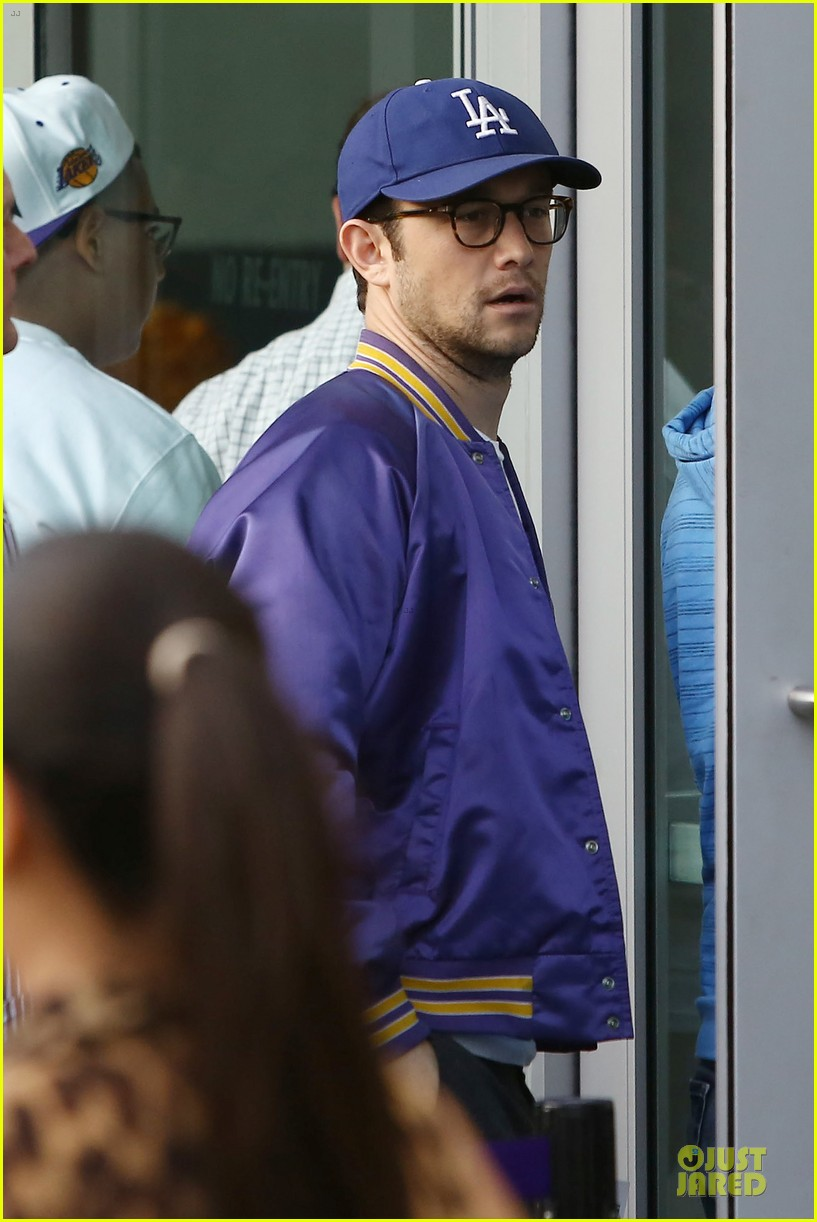 joseph gordon levitt los angeles lakers playoff game 08