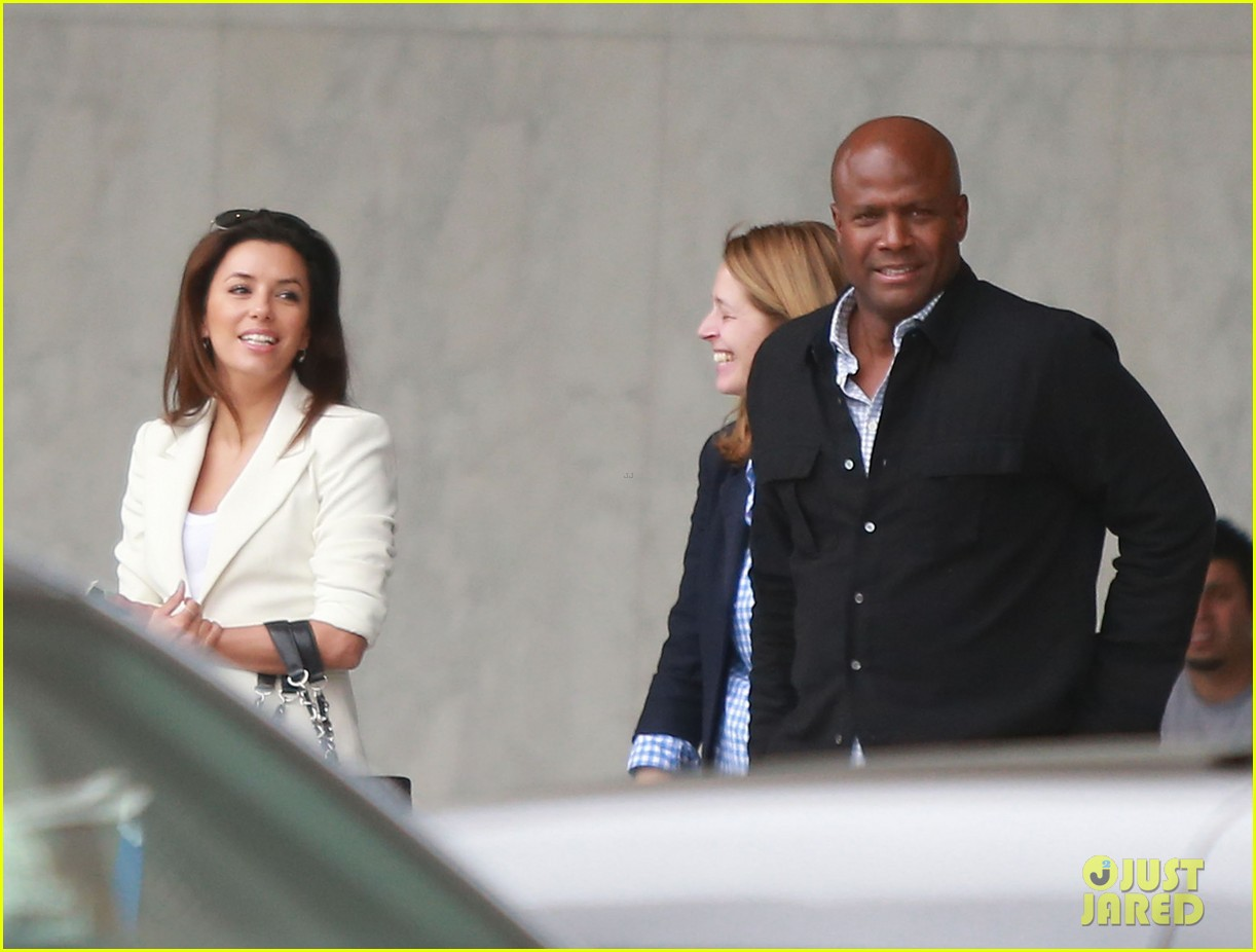 eva longoria errands before food chains fundraiser 062857897