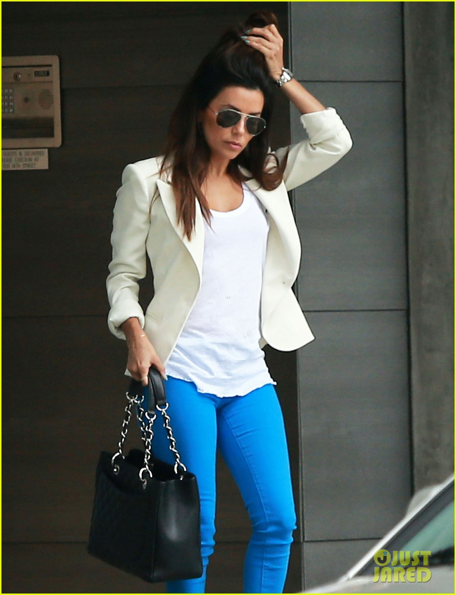 eva longoria errands before food chains fundraiser 092857900